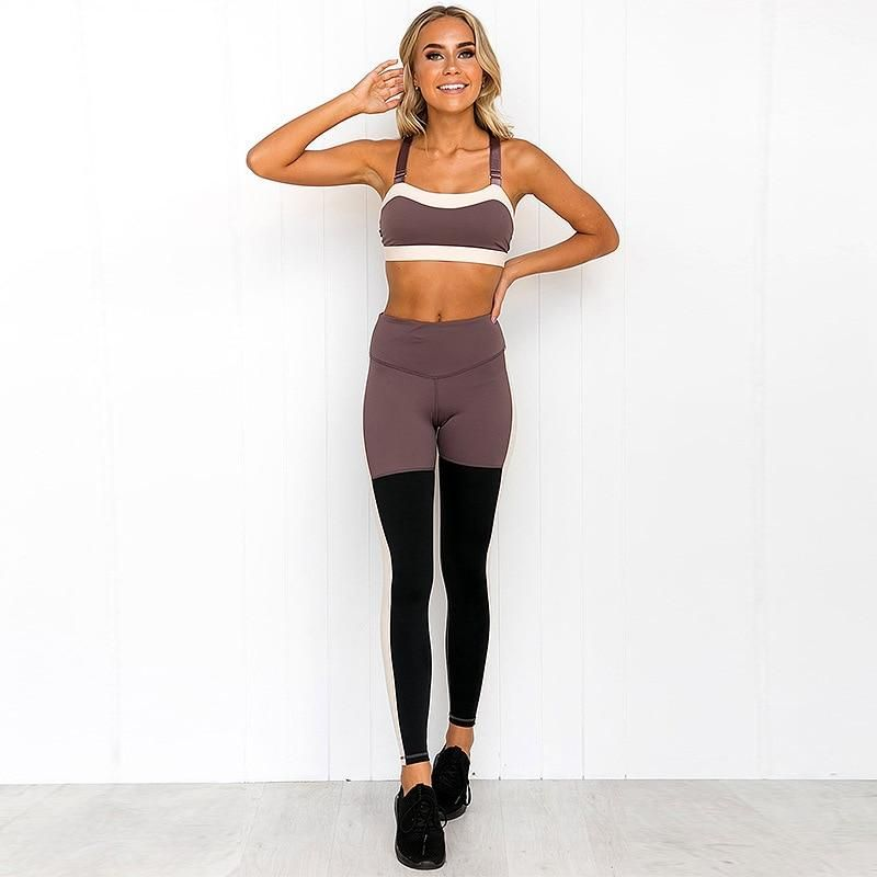 Reverie Set  Bare Sweat That color blocking though