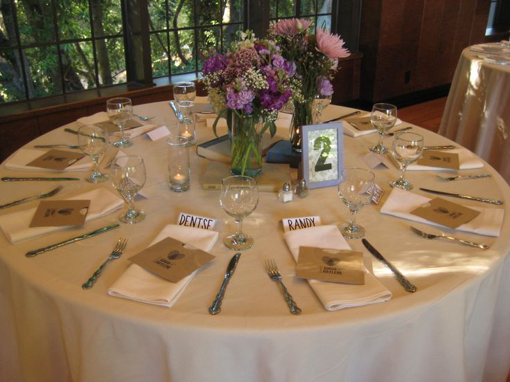 table setting for buffet style wedding | Beige linens. Buffet place setting. & table setting for buffet style wedding | Beige linens. Buffet place ...