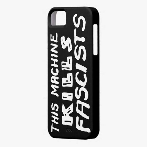 Awesome! This This Machine Kills Fascists iPhone Cases iPhone 5 Covers is completely customizable and ready to be personalized or purchased as is. It's a perfect gift for you or your friends.
