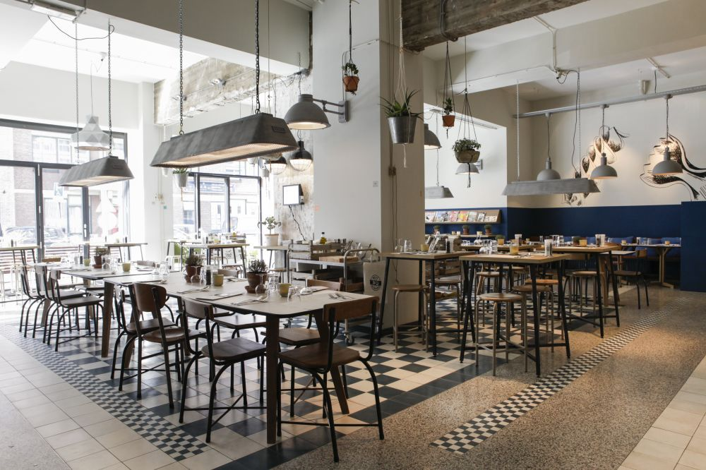 Cement Tiles - Project De Pasta Kantine - Cafe - Restaurant