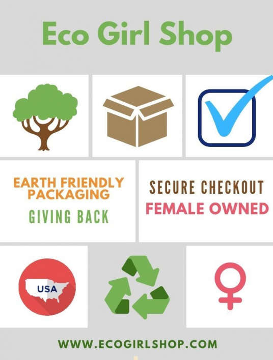 Wondering Where To Buy Eco Friendly Products Online Eco Girl Shop Is A Woman Owned Business Based In In 2020 Girls Shopping Eco Friendly Kids Earth Friendly Packaging