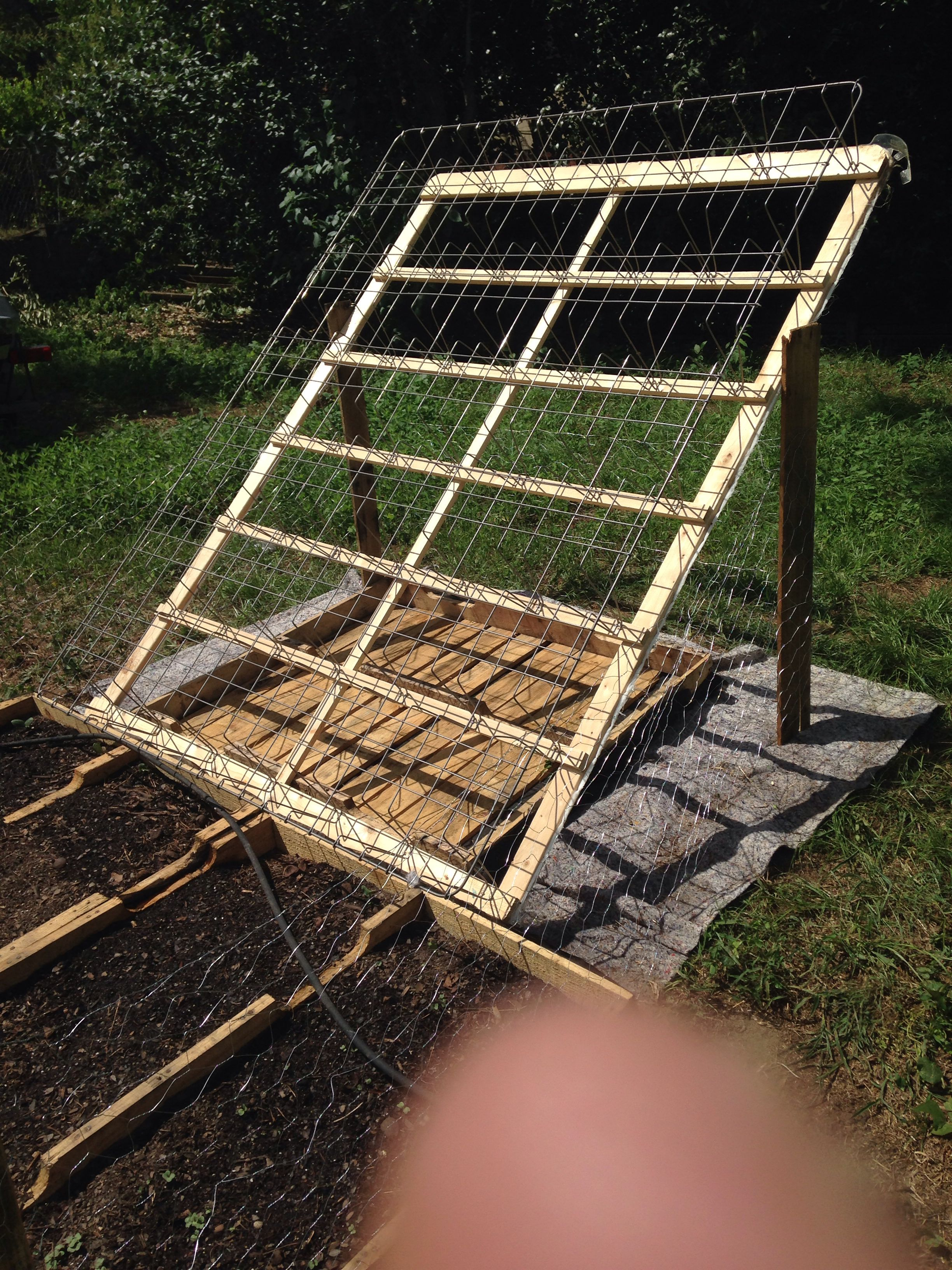 Repurposed box spring Box spring
