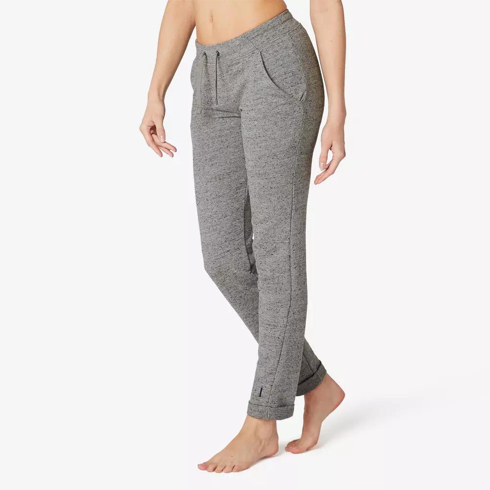 Femmes Wellness Pantalon L Gris