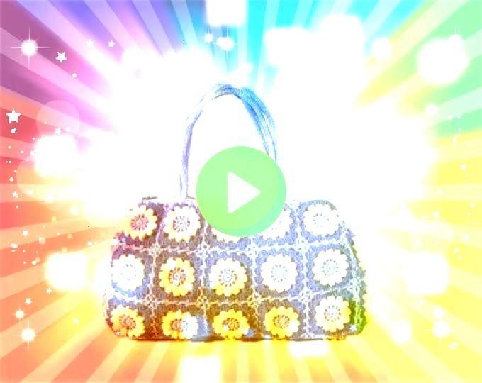 purse boho shoulder bag large crochet tote bag leather handles hippie purse with Black large purse boho shoulder bag large crochet tote bag leather handles hippie purse w...
