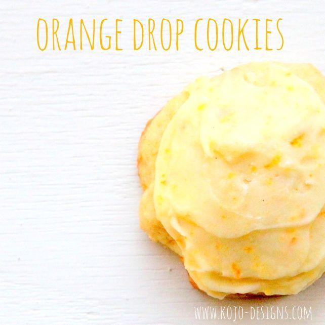Orange Drop Cookies 2 3 C Shortening 3 4 C Sugar 1