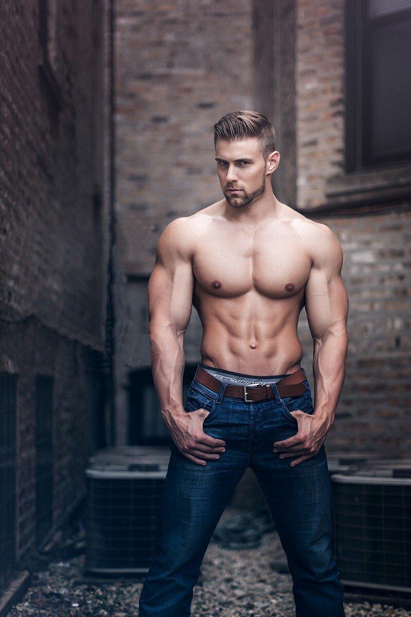 Western muscle hunk