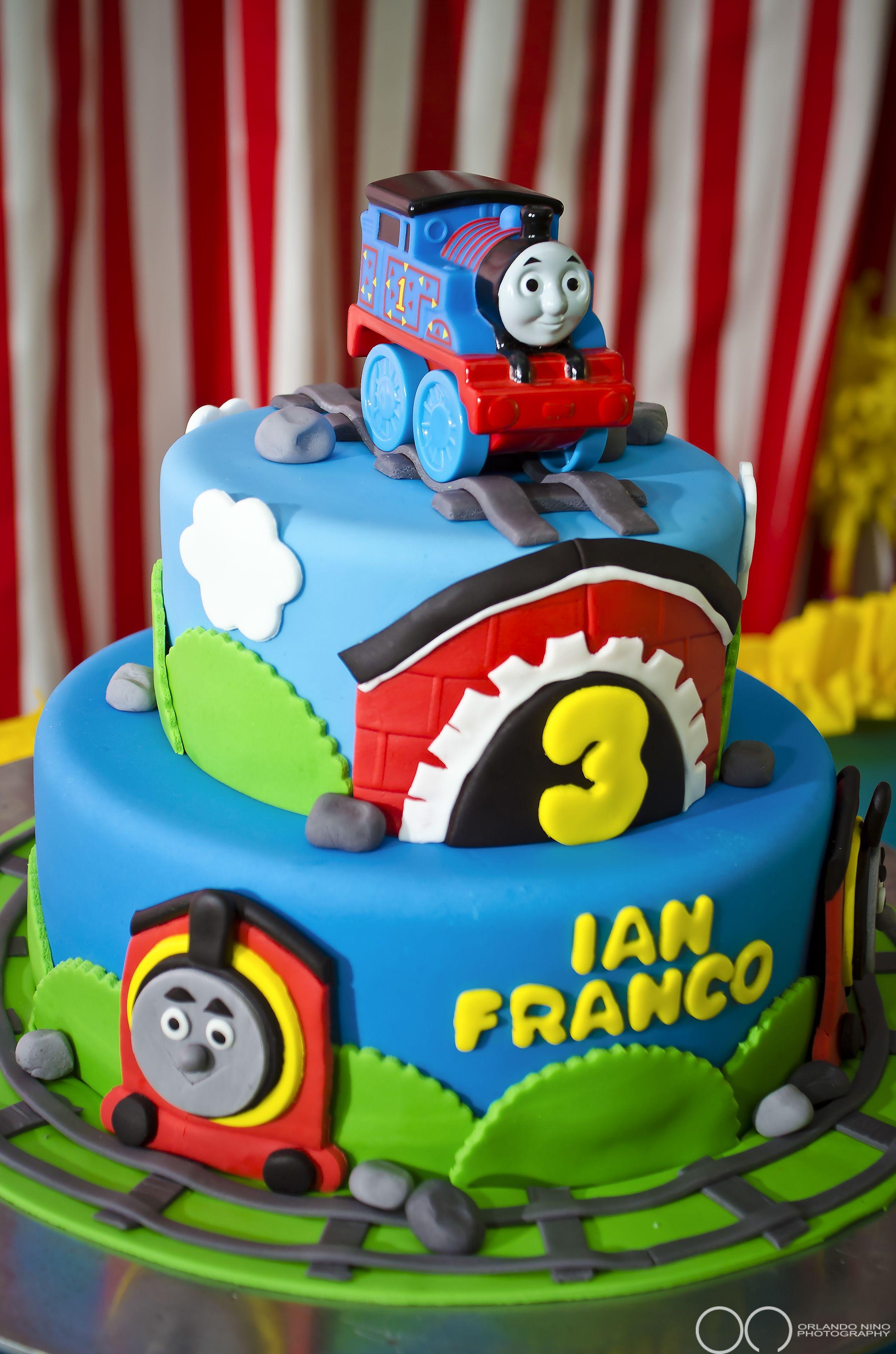 Thomas Birthday Cake Design : Thomas and Friends Birthday cake Ice cream & Cake & Cake ...