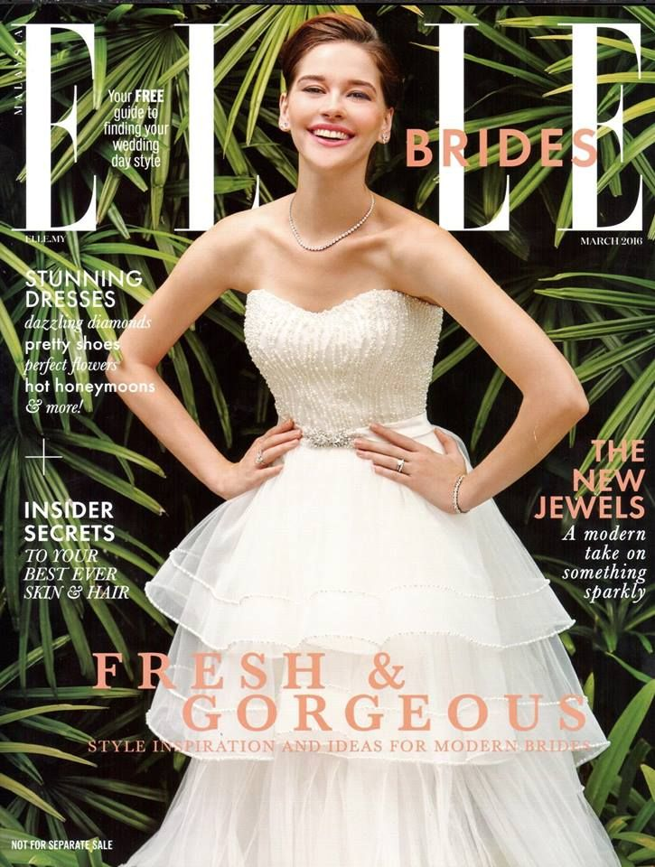 Polaris Wedding Dress From The 2016 Milky Way Collection Was On Cover Of Elle Brides Malaysia Visit Googl WMSKAL For More Details