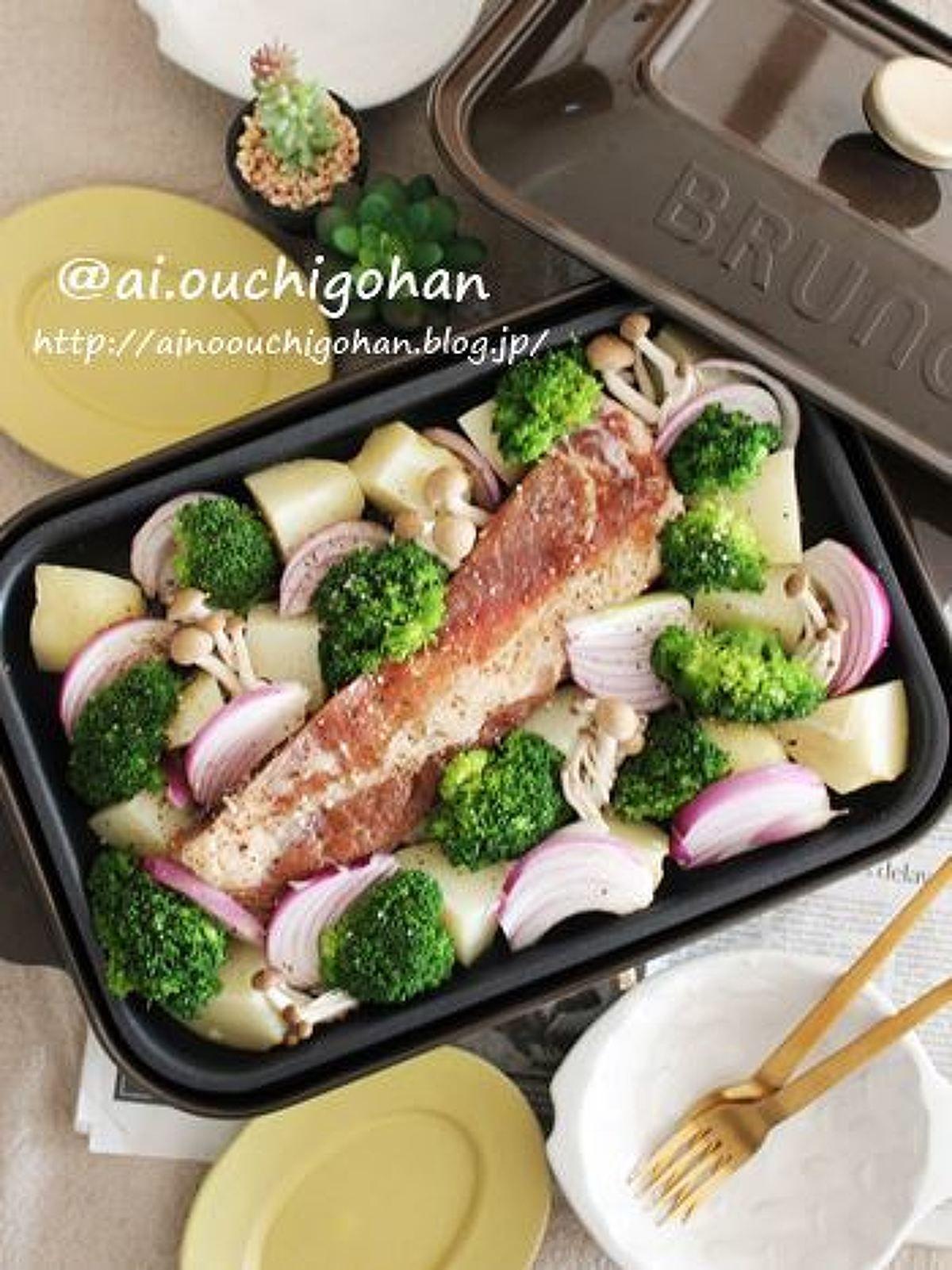 食べるまで熱々 ホットプレートdeぎゅうぎゅう焼き レシピ