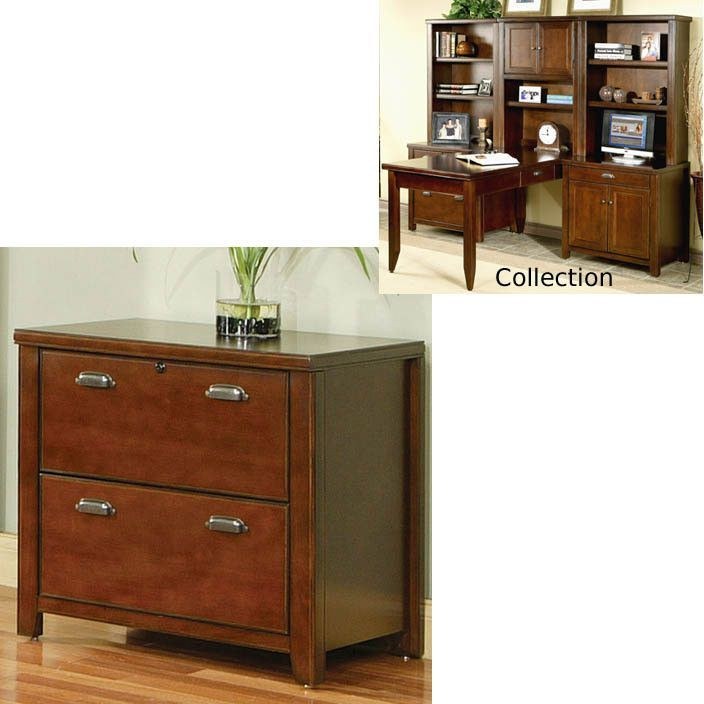 """Tribeca Loft Cherry Office Lateral File Base (Cherry) (29""""H x 30""""W x 22""""D)"""