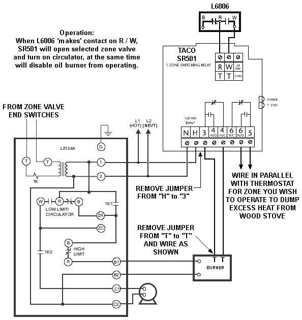 Taco Sr501 Wiring Diagram Taco Pump Wiring Diagram Wiring