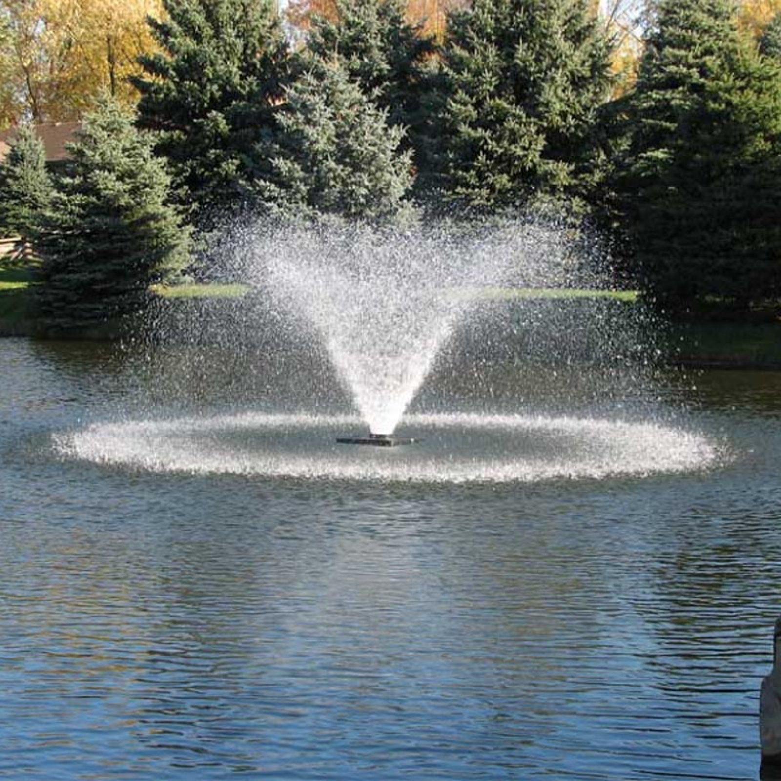Scott Aerator Da 20 Display 1 1 2 Hp Pond Aerator Water Fountains Outdoor Fountains Outdoor Pond Aerator