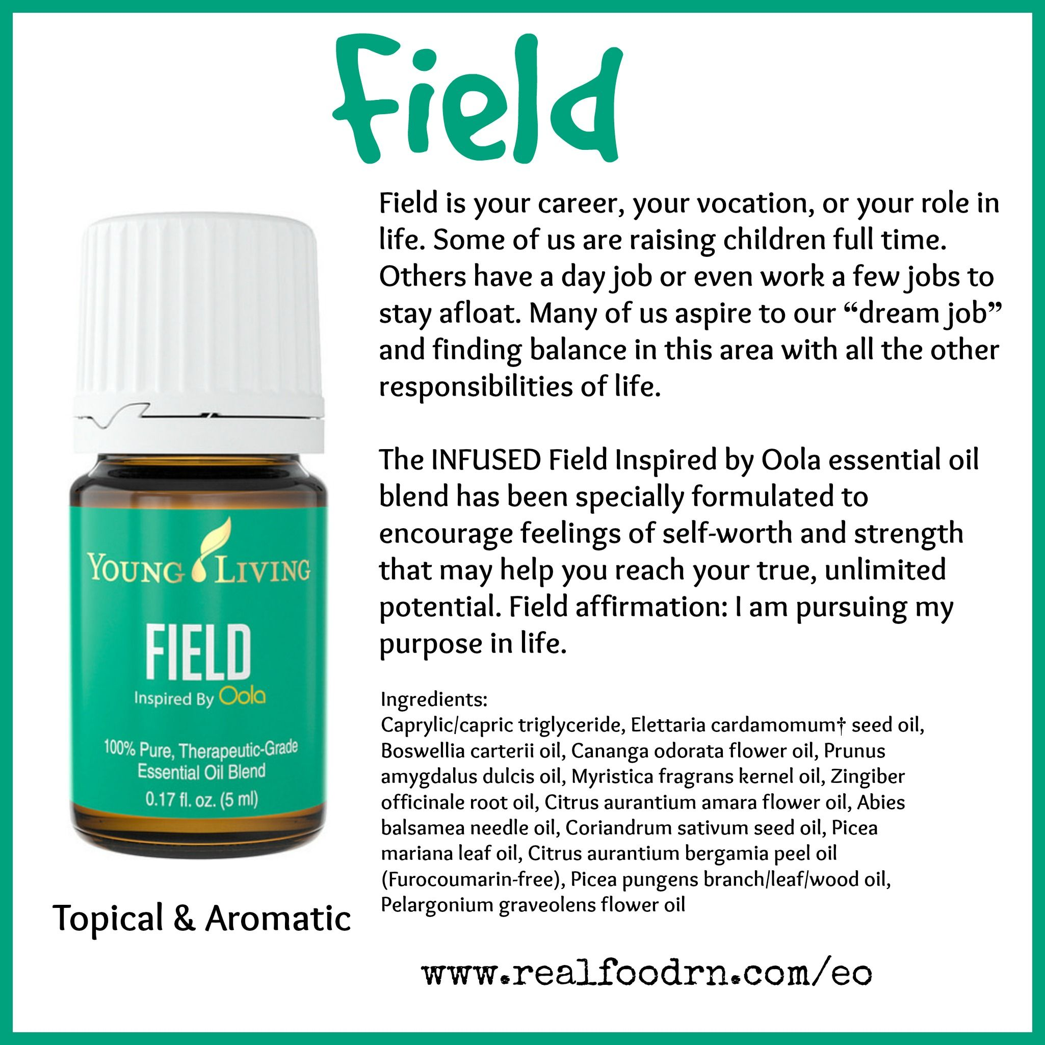 Field Essential Oil | Oily Info | Essential oils, Citrus