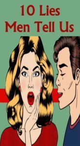 10 Lies Men Tell!  #wieghtloss  #fitness