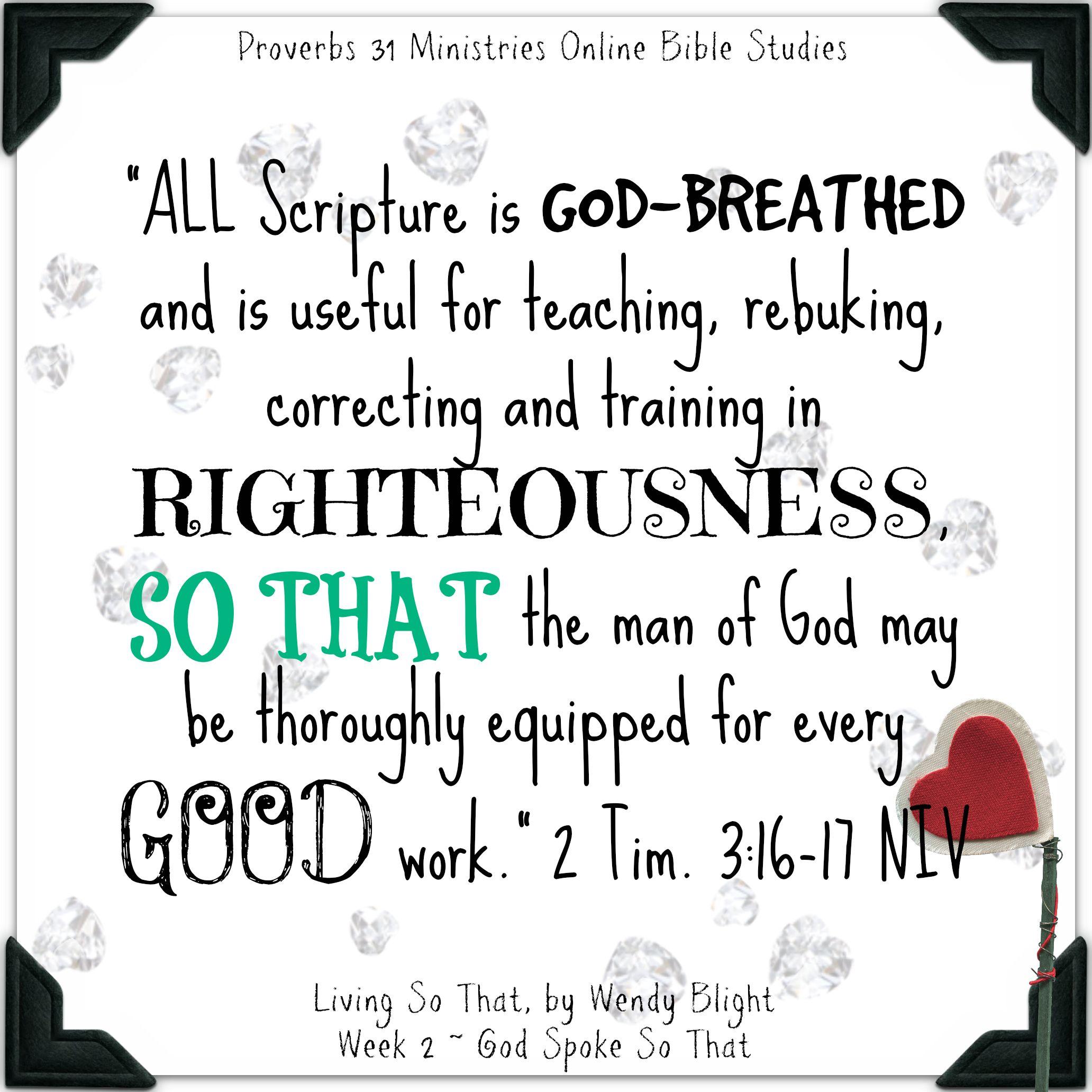 2 Timothy 3 16 17 Niv 2064 2064 Scripture Memorization
