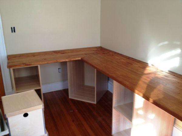 Schreibtisch Selber Bauen Ideen Modern