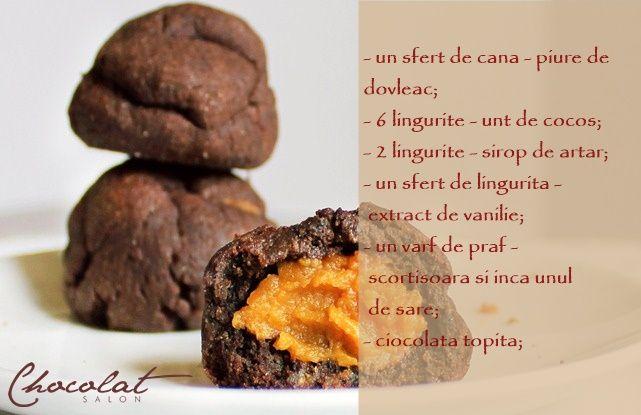 Recomandarea culinara de astazi este cea a unui desert neobisnuit pe baza de ciocolata si dovleac. Restul retetei o gasesti pe blog ->>> http://goo.gl/S4aYDn