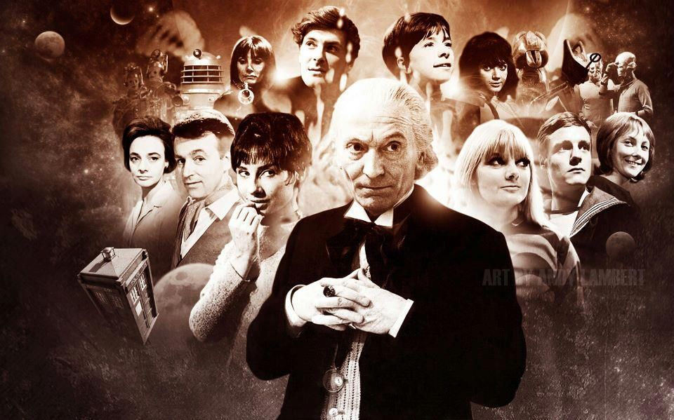 Risultato immagini per first doctor companions