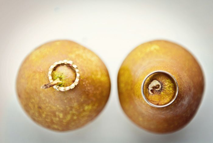 on pears // Images by A Guy + A Girl Photography