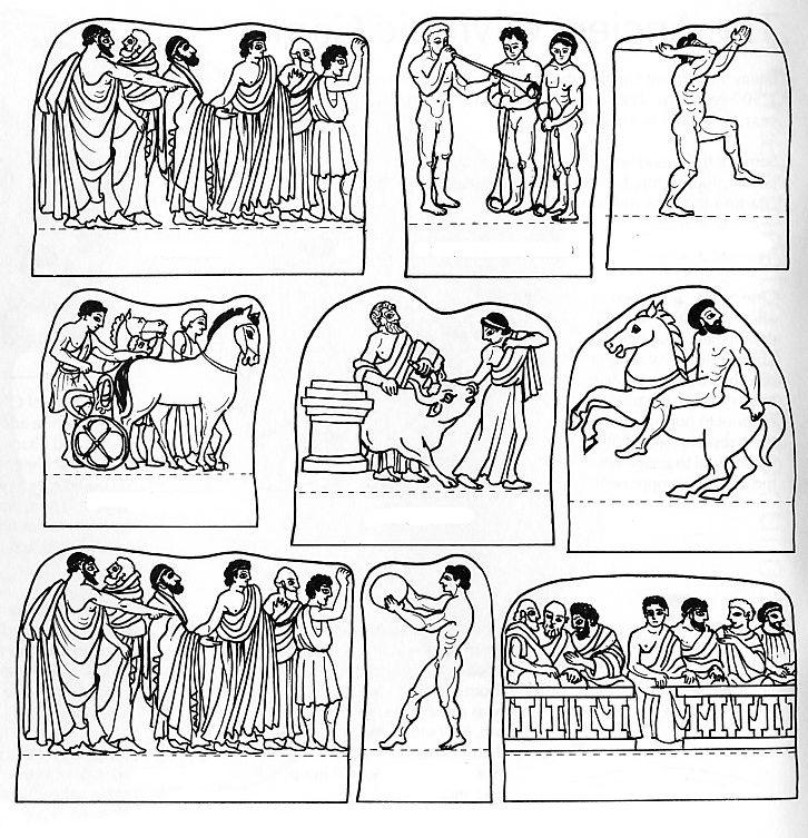 Grecia antigua, polis: Esparta y Atenas de Carla Zárate LOS JUEGOS ...