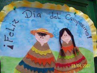 Poema Por El Dia Del Campesino Para Niños De Inicial Dia Del Campesino Dia Del Campesino Campesinos Educacion De Ninos