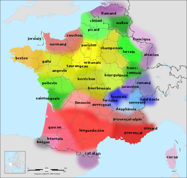 Regional french dialects and languages here there be dragons regional french dialects and languages gumiabroncs Images