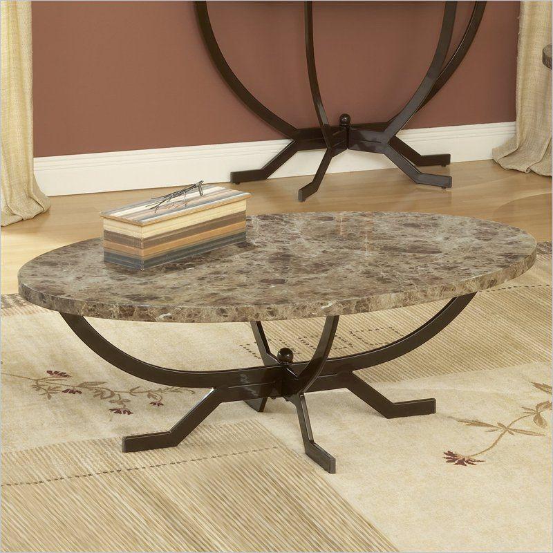 Monaco Coffee Table - Hillsdale 4142-880 $219.94 & Monaco Coffee Table - Hillsdale Furniture | Marble top coffee table ...