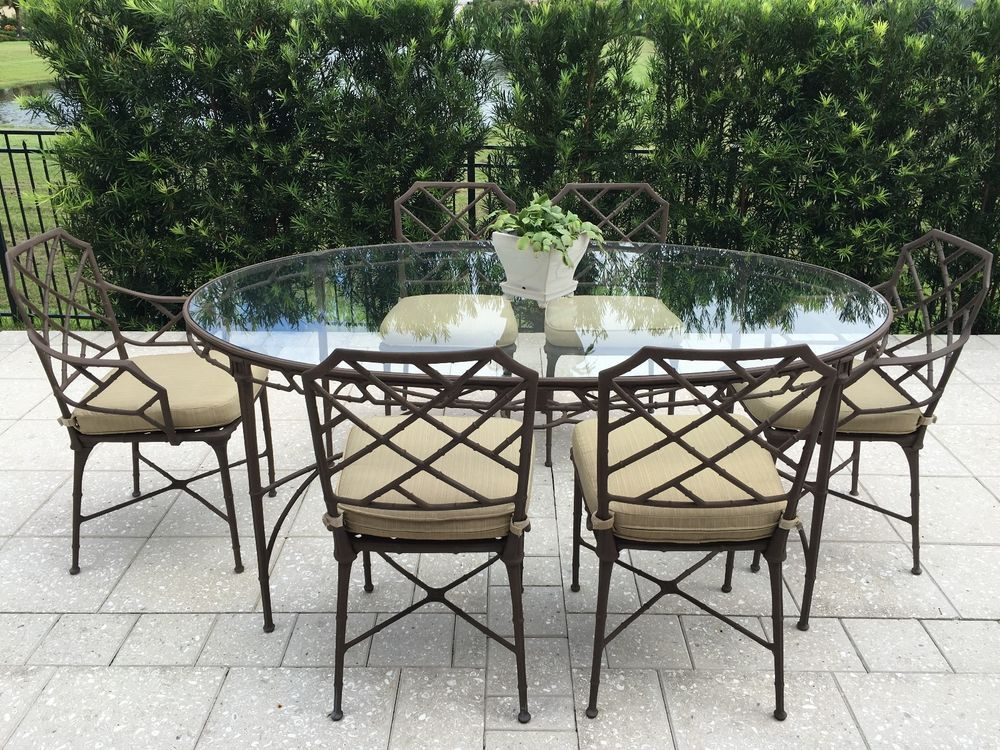Excellent Details About Monaco Rectangular Outdoor Patio Dining Table Pabps2019 Chair Design Images Pabps2019Com