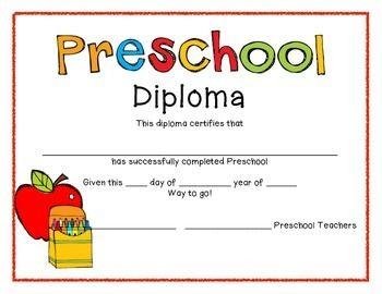 preschool graduation diplomas juicing recipes pinterest