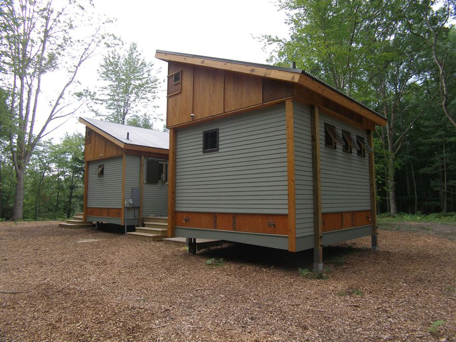 Pre Fabricated 14 Foot Square Mobile Modules Used To Make A Small Home In  Northern