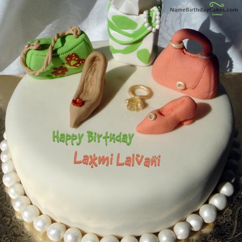Birthday Cake For Fashion Designer With Name Laxmi Lalvani Birthday Cakes For Teens Cake Anna Cake