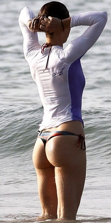 Interesting. You Jessica biel butt