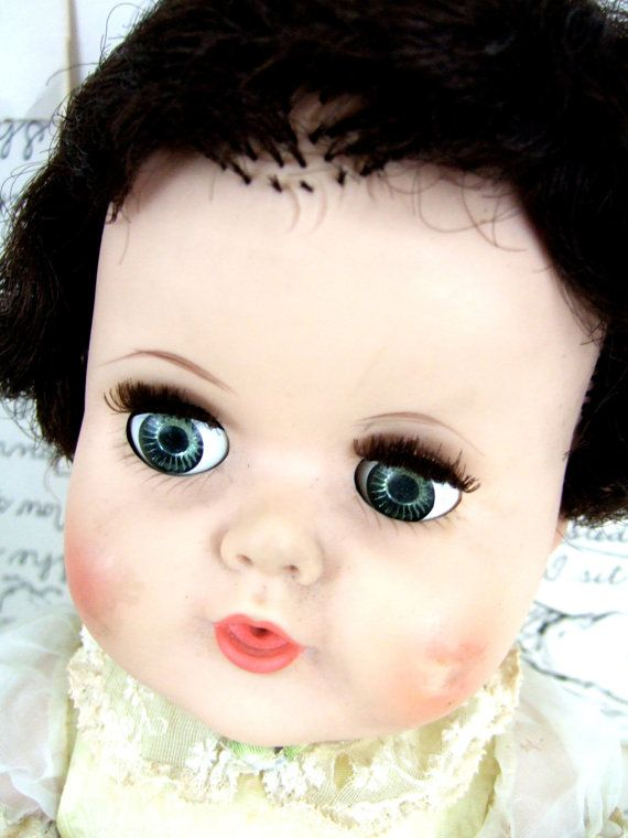 VINTAGE Doll BABY by jennyelkins on Etsy, $17.50