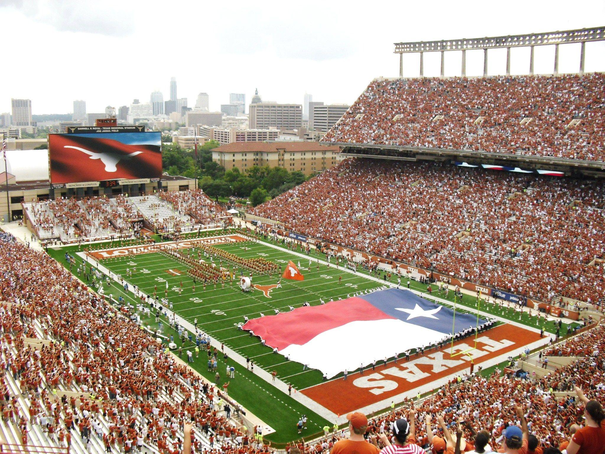 University Of Texas At Austin Longhorns A Division 1 Fbs Big 12