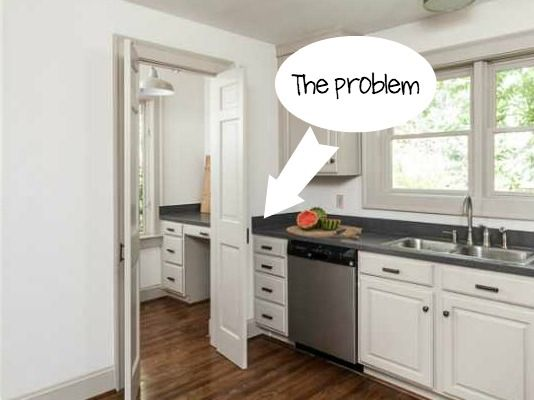 How Transform The Tall Corner Kitchen Cabinet