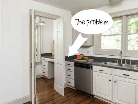 How To Turn A Door Into A Sliding Door Part 97