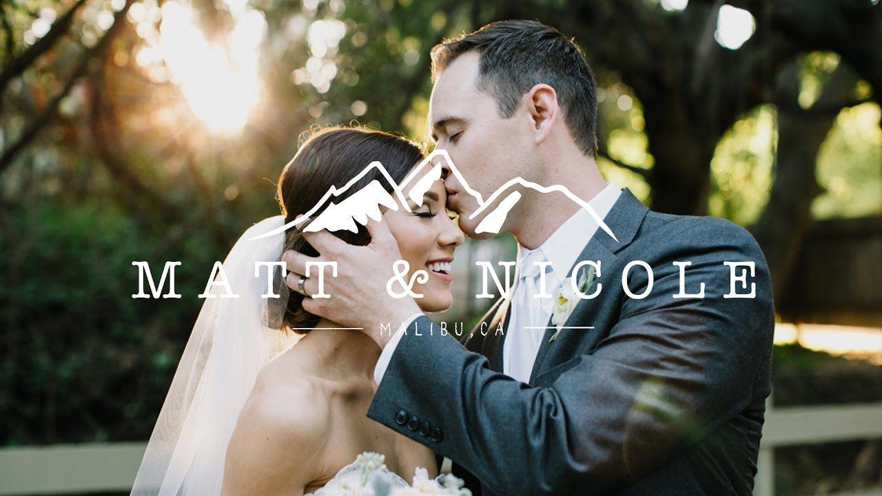 Emotional Christ Centered Wedding Video At Calamigos Ranch Tear Jerker Christ Centered Wedding Wedding Videos Christian Wedding Video