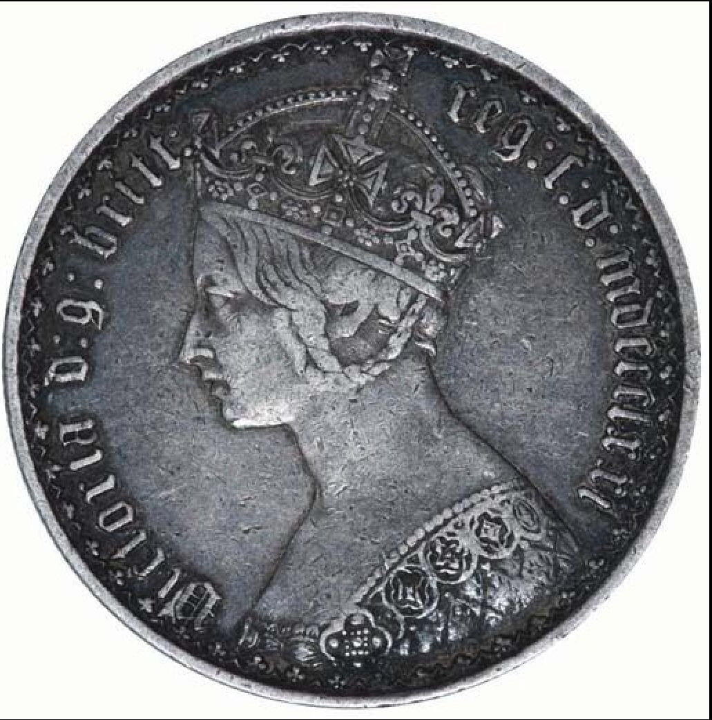 Queen Victoria Gothic Florin. I want an 1872 so bad!