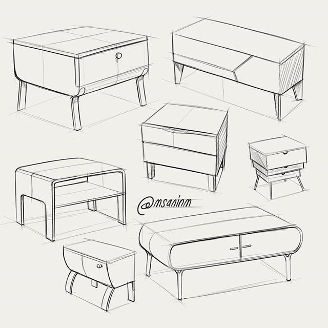 Épinglé Par Kennedy Johnson Sur Interior Design | Pinterest | Dessin,  Design Produit Et Perspective
