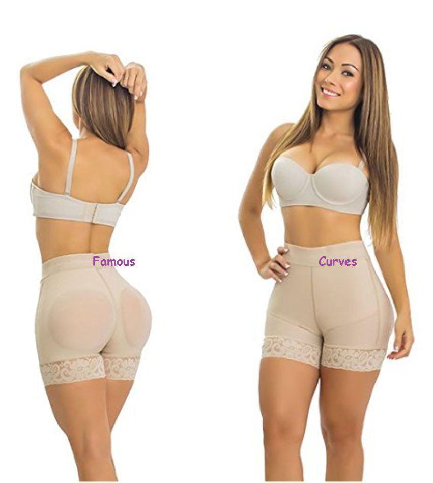 d70f00a580547 Short Postquirurgico Colombiano Levanta Cola Cintura Alta Fajate Colombia  Fajas Short