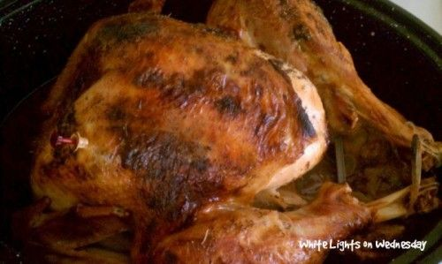 Herb Butter Turkey | White Lights on Wednesday