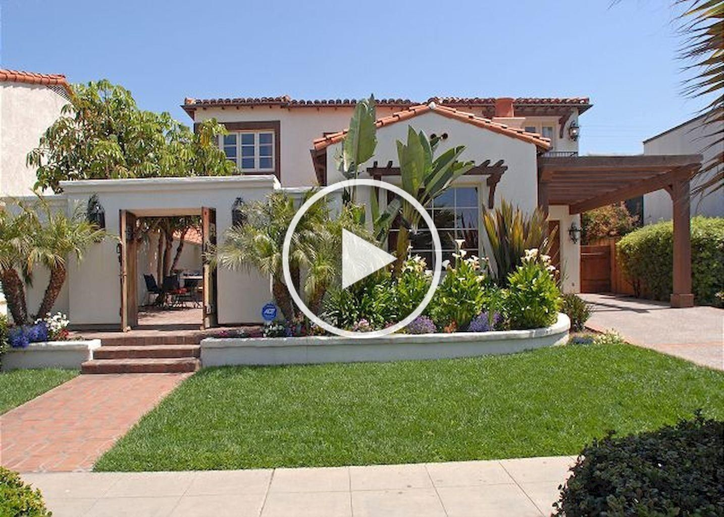 A Comprehensive Overview on Home Decoration in 2020 | Spanish style homes,  Front courtyard, Mediterranean homes exterior