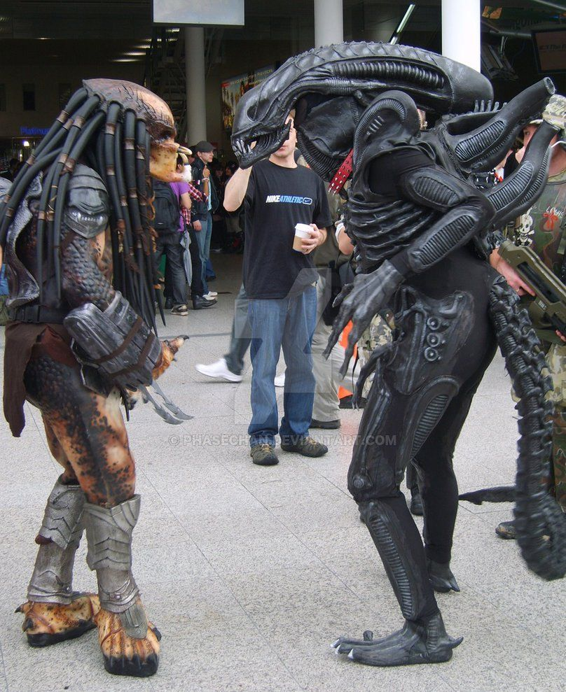 Mcm Expo 09 Alien Vs Predator By Phasechan With Images