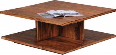 Wohnling WOHNLING Couchtisch Massiv Holz Sheesham 88 Cm Breit Design Wohnzimmer Tisch Dunkel Braun Landhaus Stil Beistelltisch Jetzt Bestellen Unter