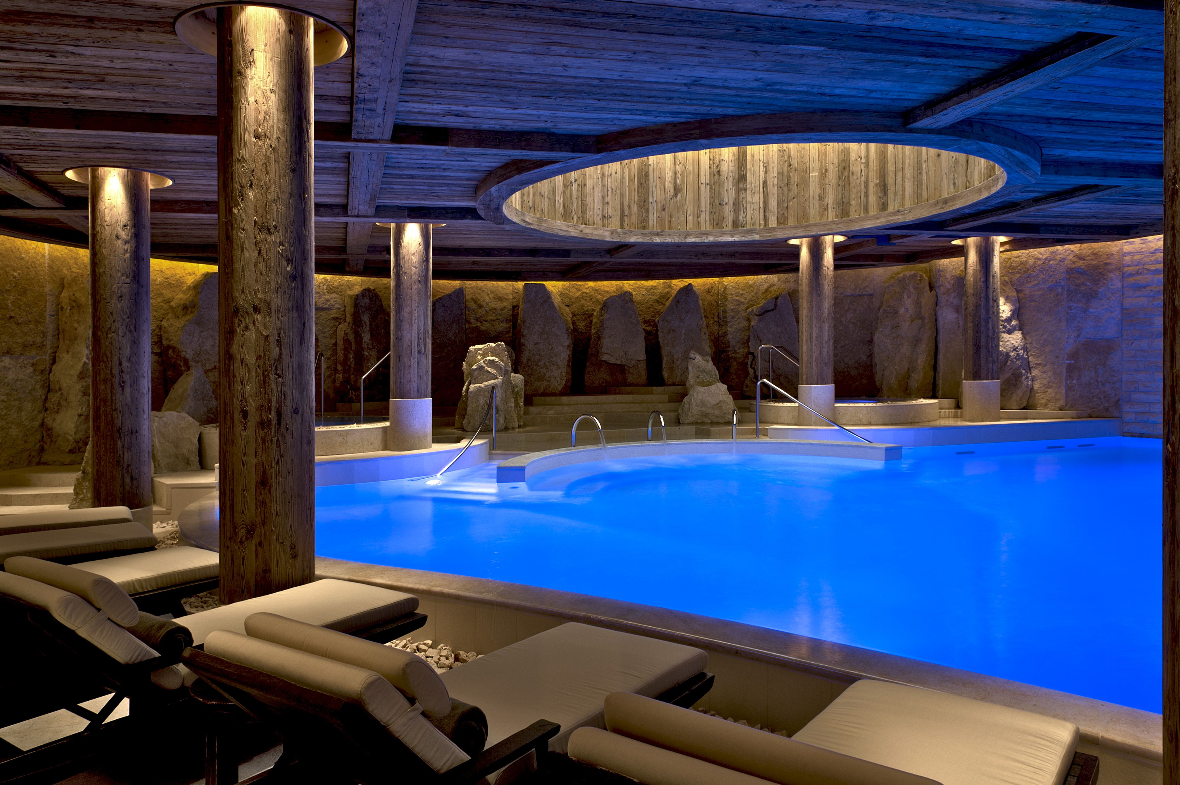 The Alpina Gstaad  Six Senses Spa Senses Spacool Poolsgeneva