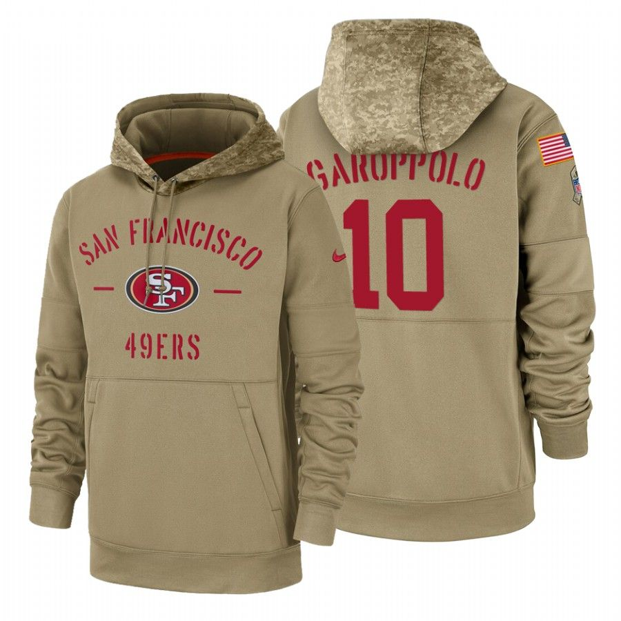 Jimmy Garoppolo   Hoodies, 49ers hoodie, Salute to service
