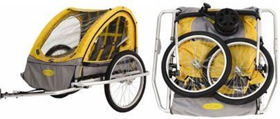 Instep Rocket Aluminum Bike Trailer Reviews Bike Baby Strollers