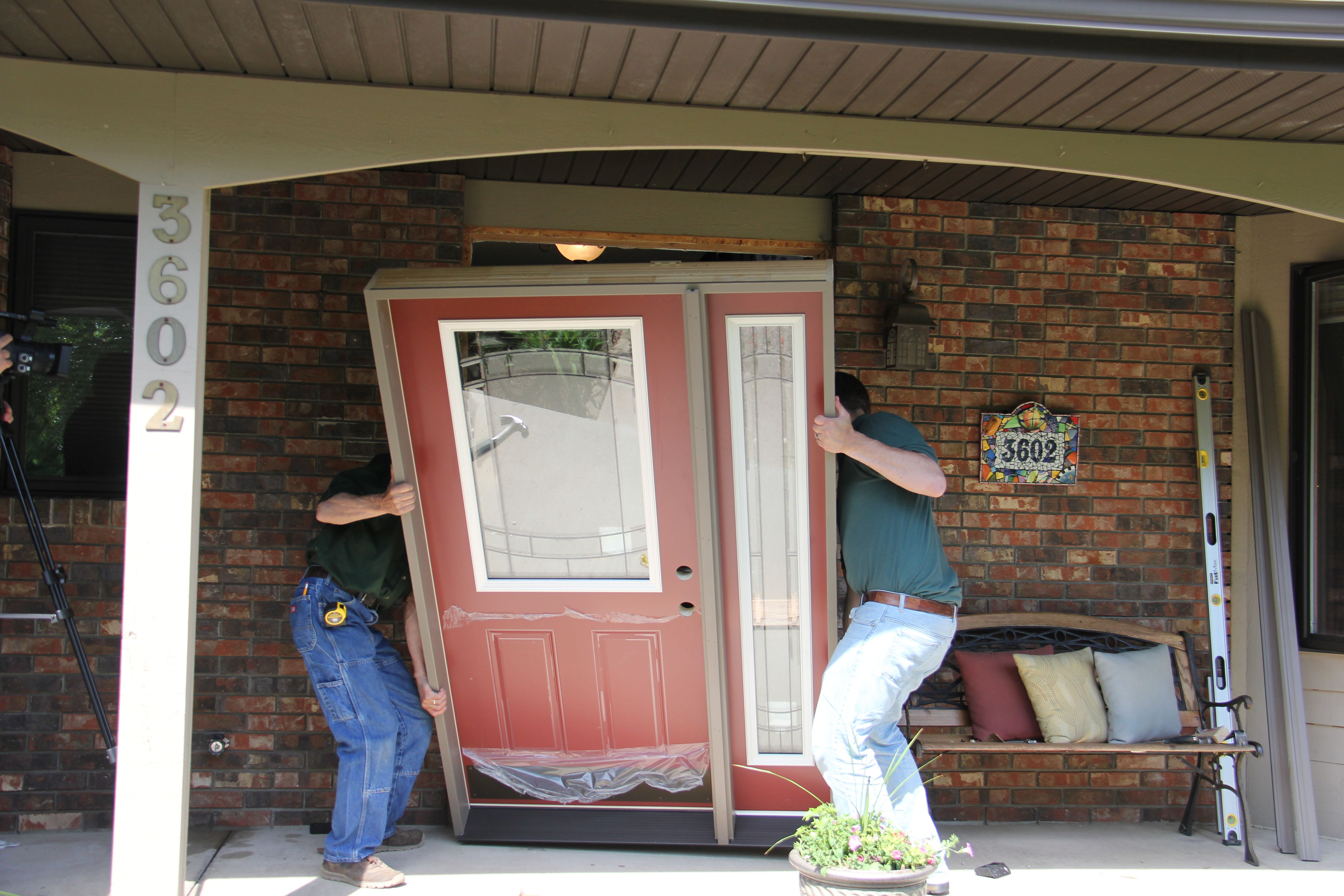 Installing An Exterior Door For You Clients Is Easy When Use Mastercraft Doors Plus
