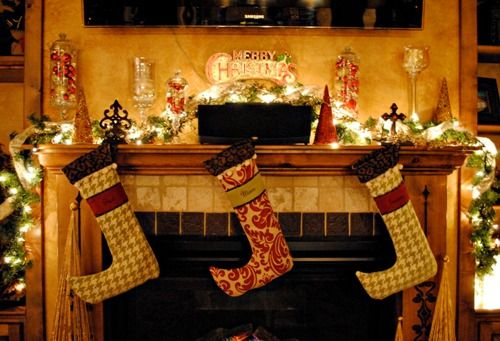 Christmas Garland Ideas Christmas Decorations Pinterest - christmas decors