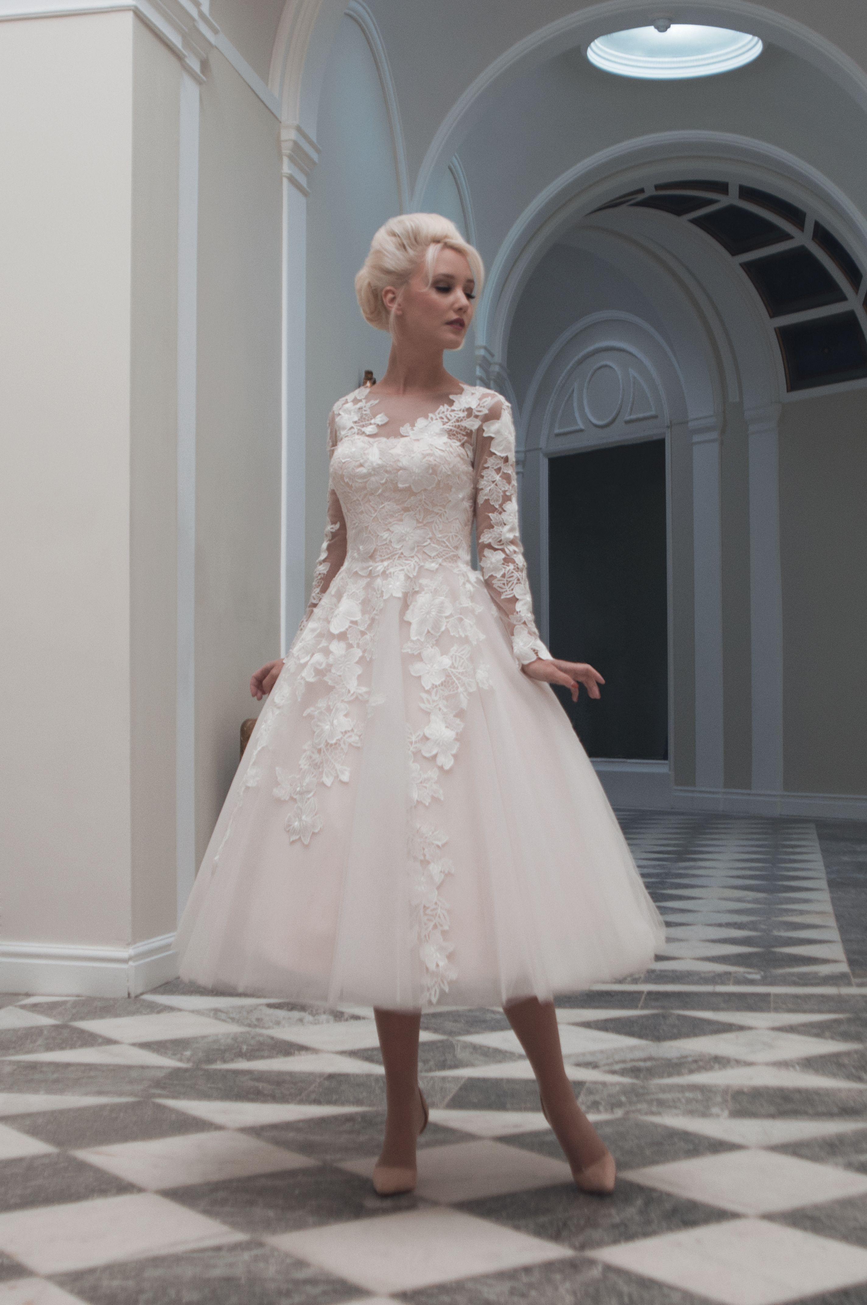 Charlotte.Fairy tale meets 1950s tea length gowns, Charlotte mixes ...